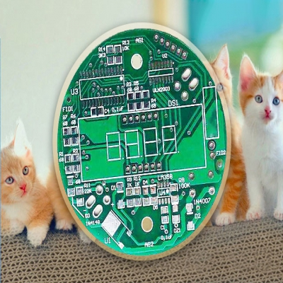 Funny cat toy control panel